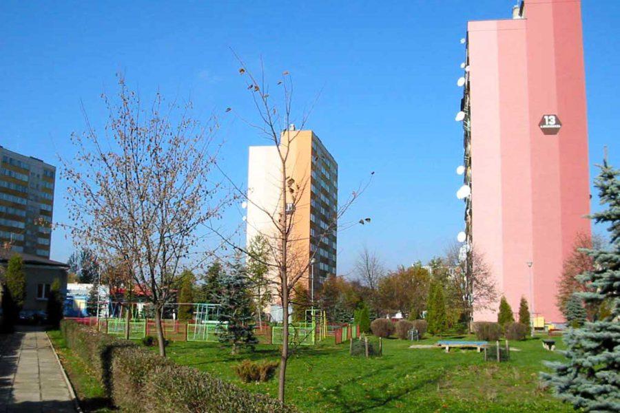 Os. Markiewicza - wieżowce
