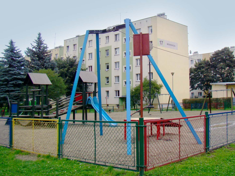 Plac zabaw przy ul. Mickiewicza
