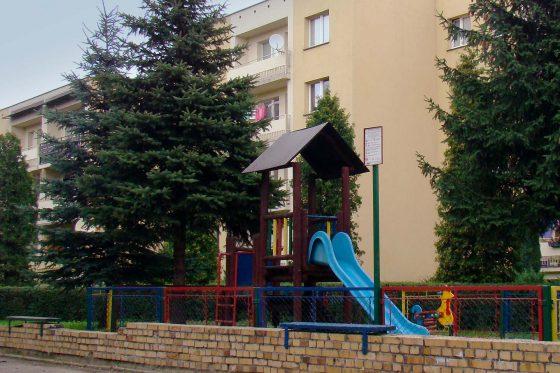 Place zabaw na osiedlach KSM